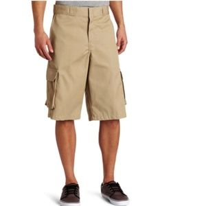 Dickies Men's Big 13 Inch Loose Fit Twill Cargo